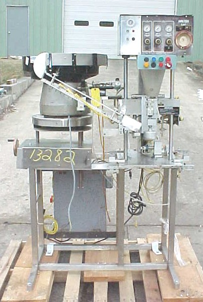 KALISH AUTOMATIC SINGLE HEAD CAPPER