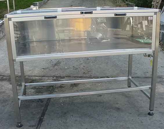 ENCLOSED CHILL TABLE