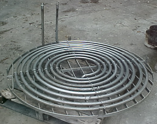 60 INCH FLAT HEATING COOLING COIL