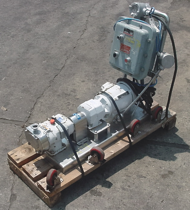 ALPHA LAVAL SANITARY PUMP