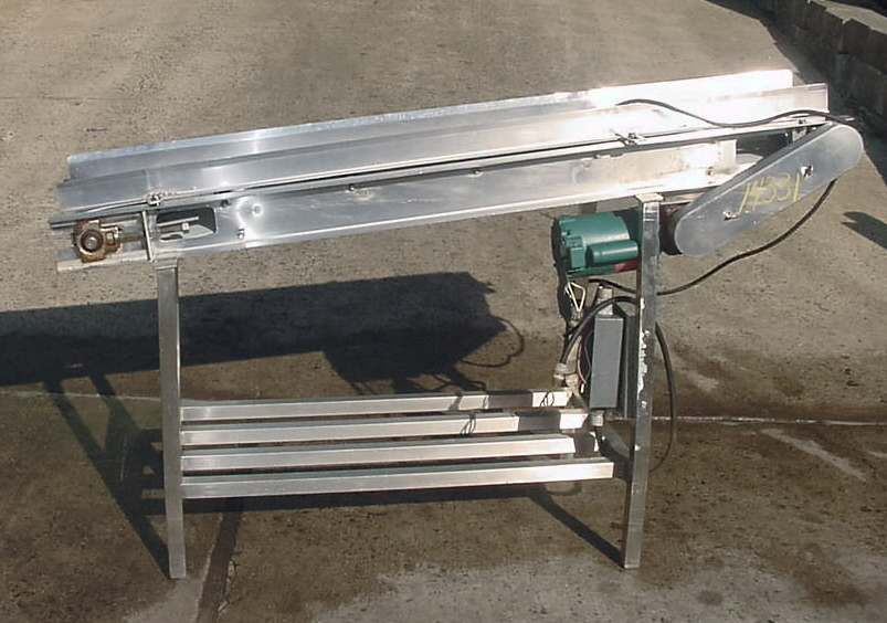 STAINLESS FOOD GRADE BELT CONVEYOR