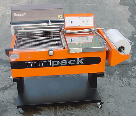 MINI PACK L SEALER SHRINK TUNNEL