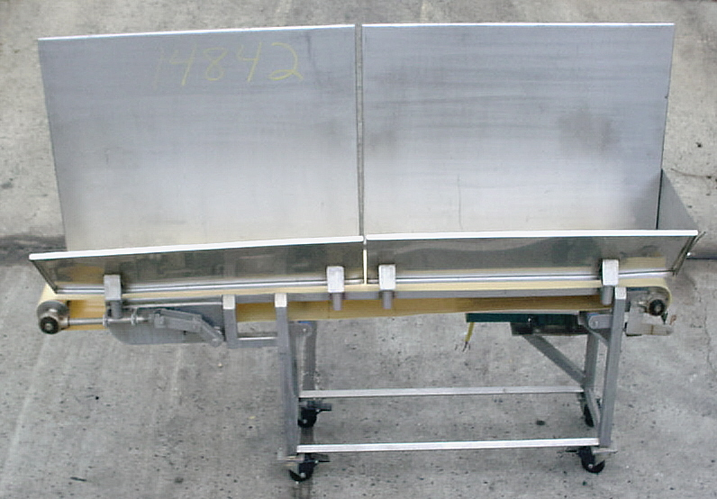 SS SANITARY BELT CONVEYOR