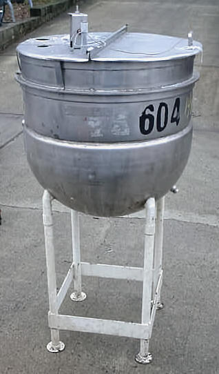 BH HUBERT 100 GAL OPEN TOP KETTLE