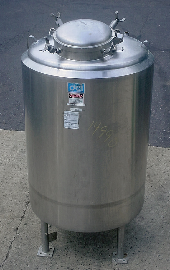 DCI 325 GALLON SS CLOSED TANK