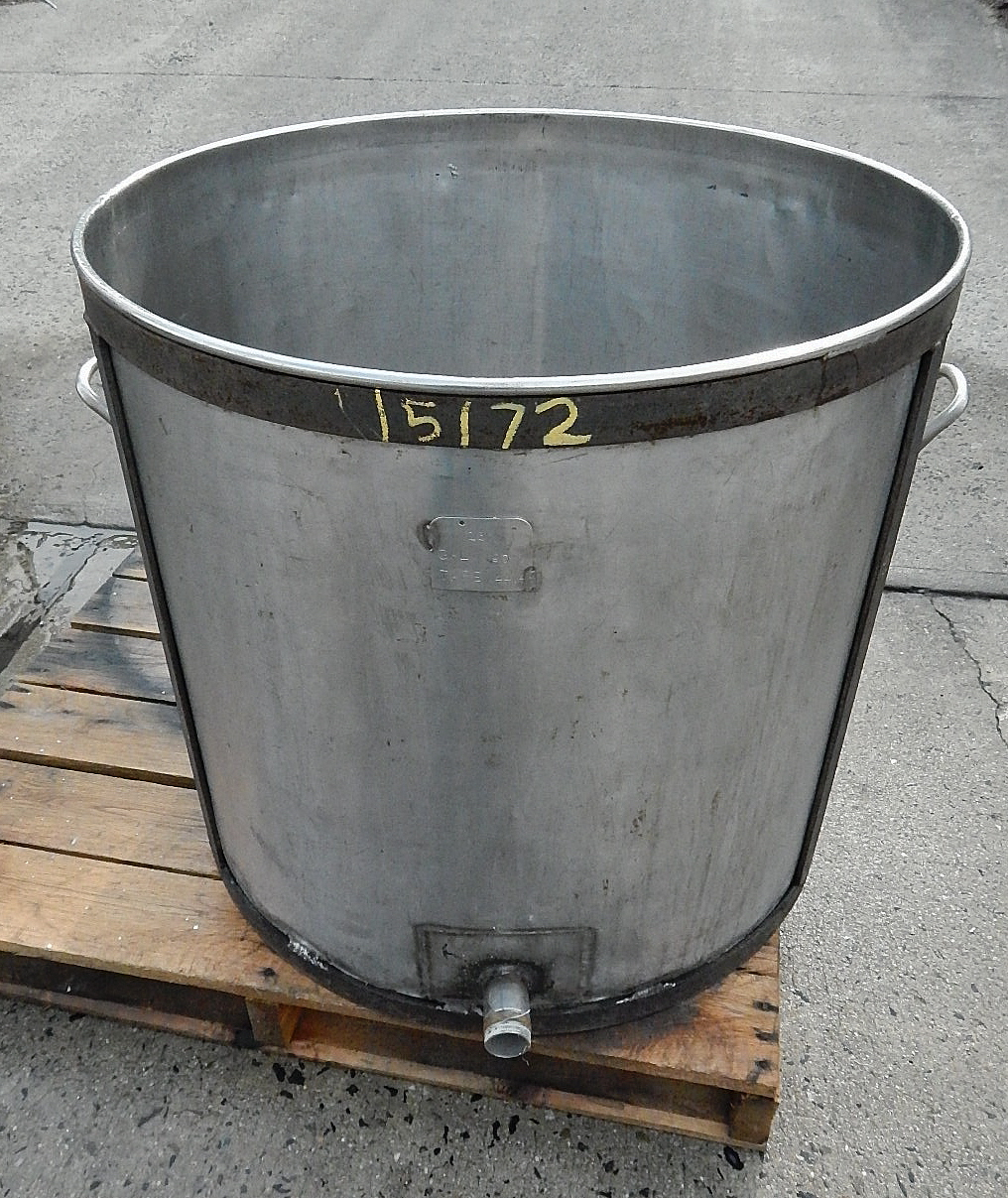 Batch tank 90 gallon stainless steel tanks champion for Reinforcements stainless steel jewelry