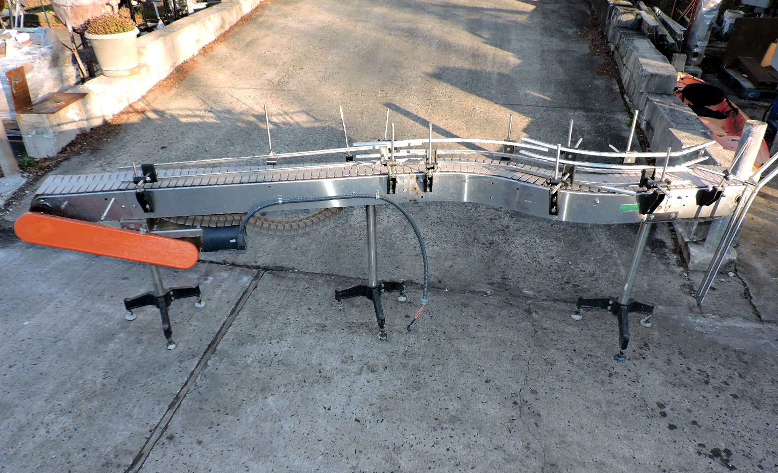 11' STAINLESS STEEL  CONVEYOR