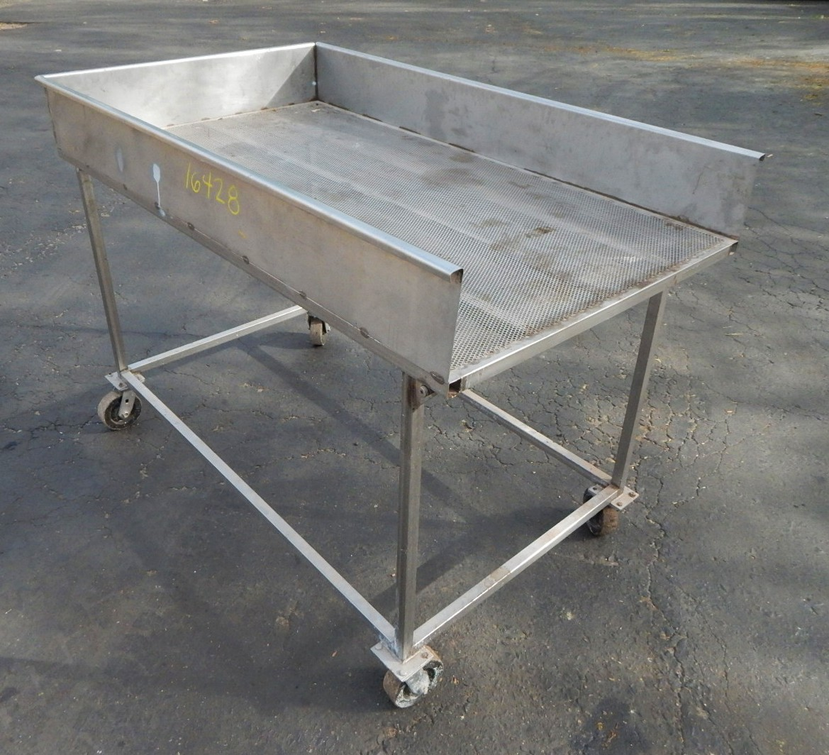 SS PERFORATED TILT TABLE