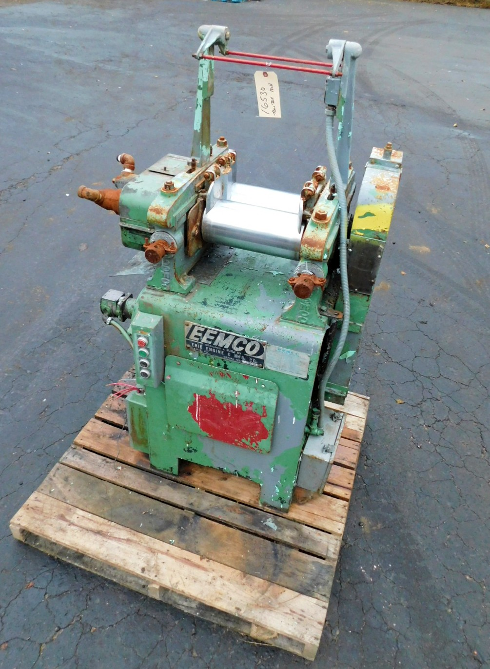EEMCO TWO ROLL MILL