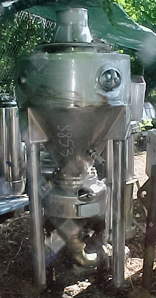 STAINLESS STEEL RECIEVER TANK